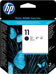 hp design hp 11 printhead c4810a ink cartridge black in computers