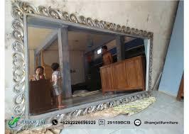 Tempat Jual Cermin Hias Di Jakarta pigura cermin jepara model terbaru ilham jati furniture
