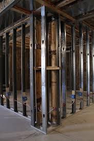 wall design wall framing images basement wall framing calculator