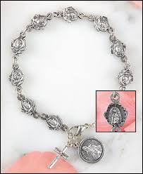 petal rosary our of guadalupe petal rosary bracelet