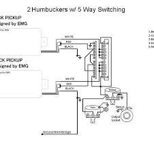 emg wiring diagram 5 way switch wiring diagram and schematic design
