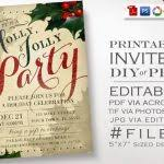 christmas party invitation template powerpoint free party within