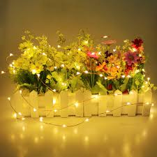 Led Wire String Lights by Aliexpress Com Buy Tanbaby Led Garland 2m 20led Battery Operated