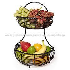 metal fruit basket china 3 tier metal fruit basket wire organizer home stand holder