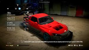 New Honda S2000 Need For Speed 2015 Honda S2000 Bodykit Customization Tuning Drift