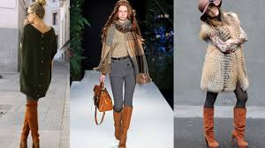 womens boots in fashion with what to wear womens brown boots in trend fall winter