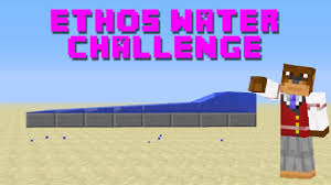 Water Challenge Tutorial Minecraft Tutorial Ethos Magic Water Challenge