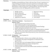 Sample Resume For 3 Years Experience In Manual Testing Manual Testing Resume Samples 01 Testing Fresher Resume Manual
