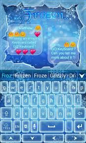 go keyboard theme apk frozen go keyboard theme android apps on play
