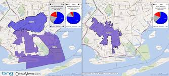 New York Map Districts by New York State Senate District 17 2001 2011 Comparison