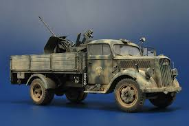 german opel blitz truck opel blitz with flak general development suggestions heroes
