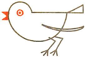 drawing bird robin simple shapes preschoolers