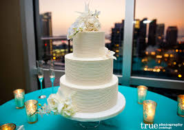 modern white wedding cake by sweet cheeks someday