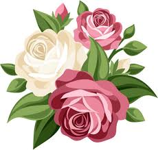 Bouquet Of Roses Bouquet Of Roses Clip Art Free Clipart