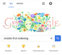 new google homepage design google to notify webmasters when switching to mobile first indexing