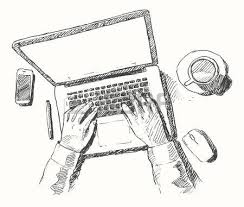 9 132 sketch laptop stock illustrations cliparts and royalty free