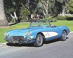 50s corvette the chevrolet corvette from 1953 to 1970