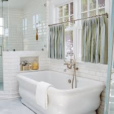 Ideas For White Bathrooms Best 25 Bathroom Window Curtains Ideas On Pinterest Window