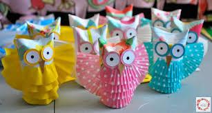 a glimpse inside toilet paper tube owls