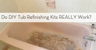 Bathroom Tile Paint Kit Bathtub Refinishing Kit Guide Diy Bathroom Update Curbly