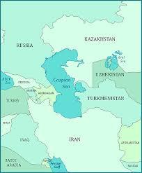 sea of map map of the caspian sea