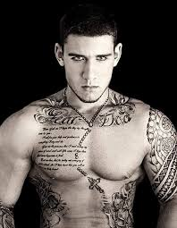 men show latest quote and cross chain necklace tattoo golfian com