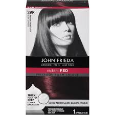 rich cherry hair colour john frieda hair color precision foam colour radiant red dark cherry