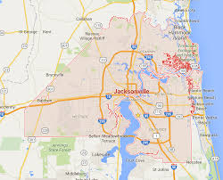 Map Of Jacksonville Florida by How Big Is Jacksonville Really The Coastal