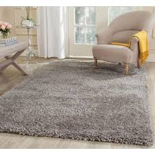 Area Rugs 6 X 10 Safavieh Popcorn Shag Silver 8 Ft X 10 Ft Area Rug Sg267c 8