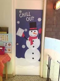 snowman door decorations chill out office door snowman holding anger management