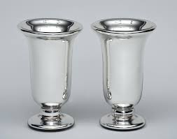 Silver Vase Wholesale Wholesale Mercury Glass Trumpet Vase Cheap Bud Vases Uk 26779