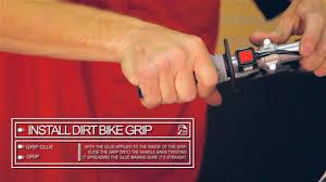 dirt bike motocross videos how to install handlebar grips on a dirt bike u0026raquo