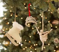 glitter tiara skate butterfly ornaments pottery barn