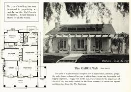 Large Bungalow Floor Plans A Popular California Bungalow Pattern Used By Sears Modern Homes