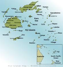 fiji resort map fiji map