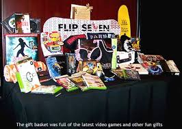 gamer gift basket best the 2006 vga gift suite a gamers paradise las the place los
