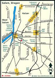 oregon major streets map