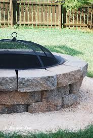 Build Backyard Fire Pit - how to build a diy a backyard fire pit 11 magnolia lane