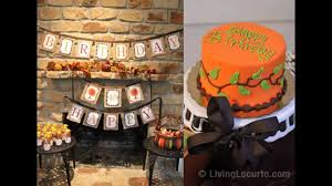 fabulous thanksgiving birthday ideas