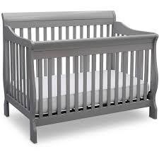 Delta Convertible Crib Delta Children Canton 4 In 1 Convertible Crib Gray Walmart