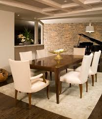 Stone Dining Room Table - stone wall in dining room stone wall decor dining room igf usa
