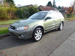 green subaru outback 2007 subaru outback for sale awd auto sales