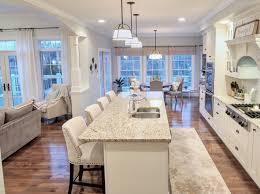 Open Concept Kitchen Design Kitchen White Kitchen White Cabinets Open Layout Open Concept