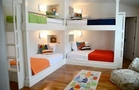 Bunk Beds Built Into Wall Bedroom On Bunk Beds Bedroom Barrowdems