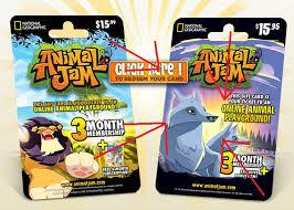 animaljam gift card the animal jam city artic wolf mystery solved