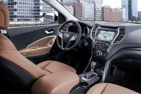 Hyundai Santa Fe 2004 Interior Facelifted 2017 Hyundai Santa Fe Unveiled Debuts In Frankfurt
