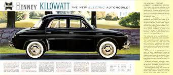 1960 renault dauphine 1959 henney kilowatt renault dauphine chassis top speed of 40