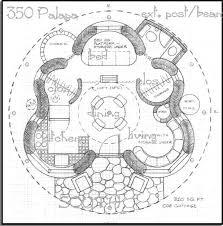 round house plans floor plans round house plans 350 sq ft palapa elevation large plan