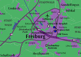map of freiburg metro maps by chicago cartographics