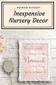 Mermaid Nursery Decor Mermaid Nursery Decor This Would Be So For A Baby